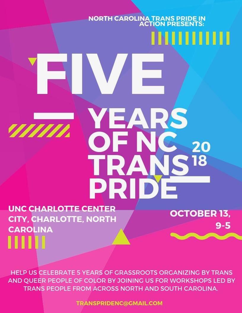 NC Trans Pride 2018
