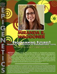 "***CANCELLED*** Miranda R. Waggoner: ""Programming Futures?"""